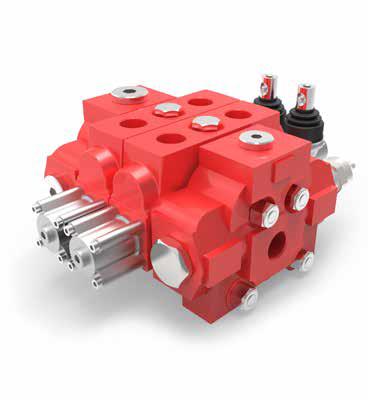 AMI 12C handbediende hydraulische stuurschuiven modulair