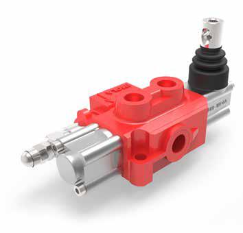 AMI 3 Enkelvoudige handbediende hydraulische stuurschuiven