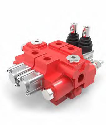 AMI 5C handbediende hydraulische stuurschuiven modulair