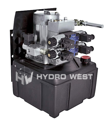 12 volt hydraulisch compact unit