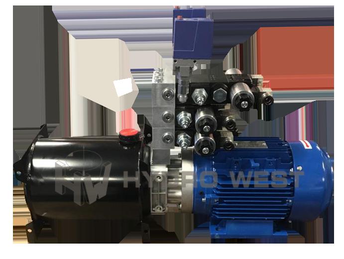 24 volt hydraulisch compact unit